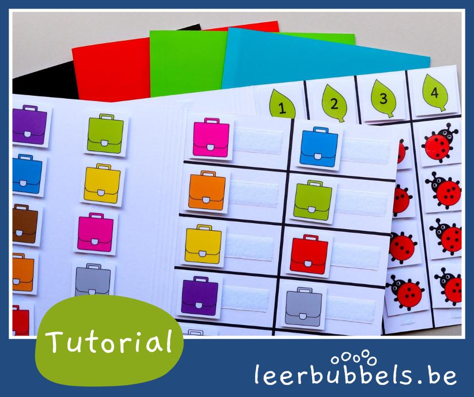Tutorial werkmappen maken - bubbelblog leerbubbels