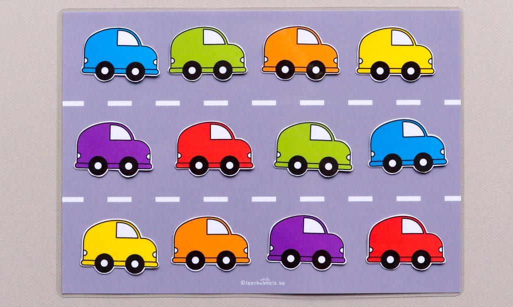 Thema auto's - Leerbubbels