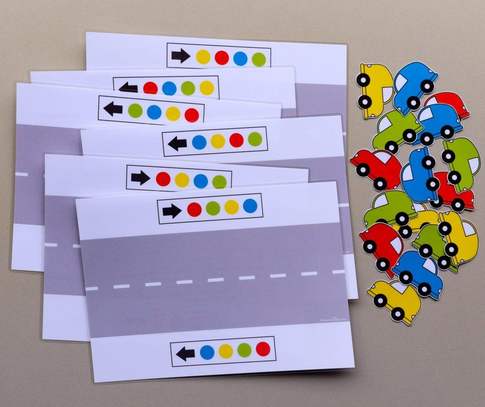 Richting & patronen thema auto's