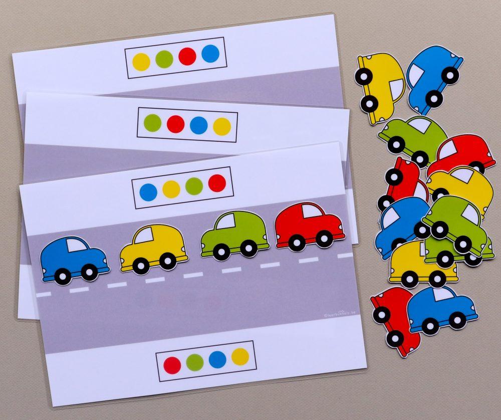 Patronen naleggen thema auto's