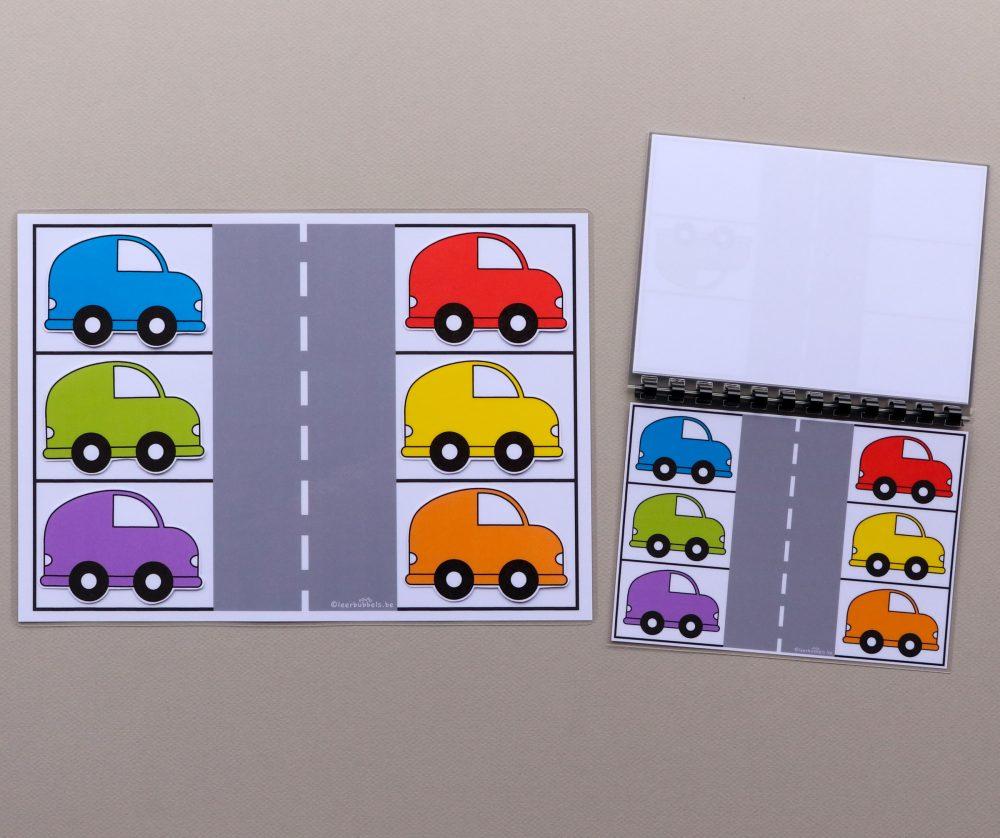 Stappenplannen thema auto's