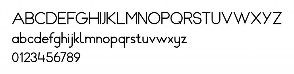 Lettertype SchoolKX_2020_Miranda