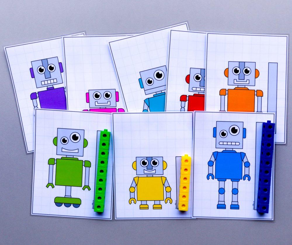 Meetkaarten om robots te meten