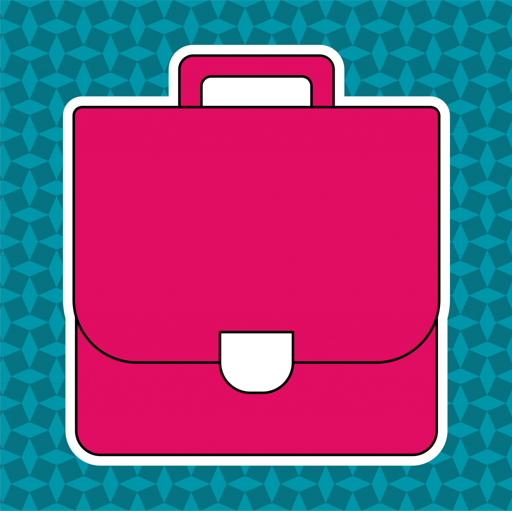 Thema boekentas - leerbubbels