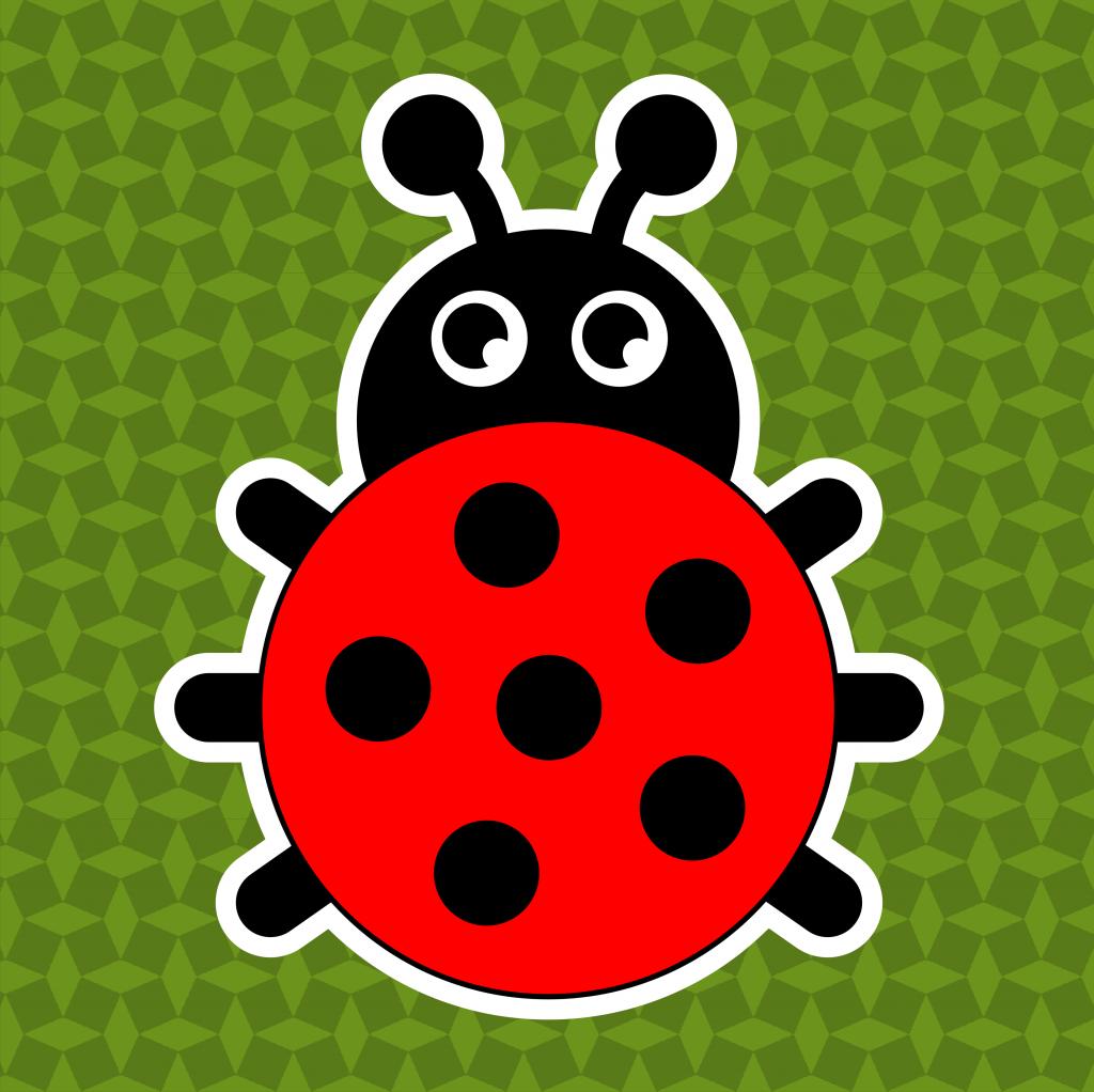 Thema lieveheersbeestjes - leerbubbels