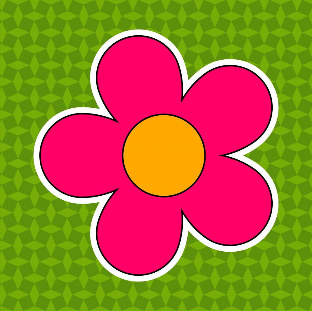 Thema bloemen - Leerbubbels