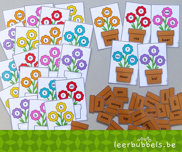visuele synthese voor kleuters en speelleerklas - Leerbubbels