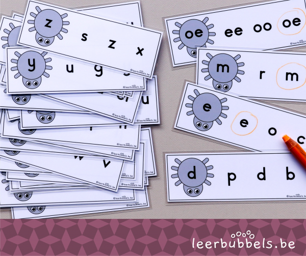 Kleine letters matchen