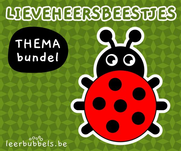 Themabundel lieveheersbeestjes Leerbubbels